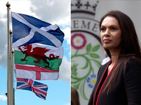 Gina Miller arriving at The Supreme Court