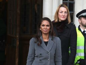 Businesswoman Gina Miller arrives for the hearing