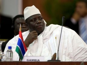 Mr Jammeh is now contesting the result
