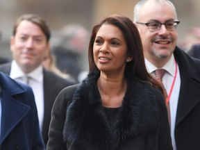 Gina Miller arrives at the Supreme Court for the second day of the hearing