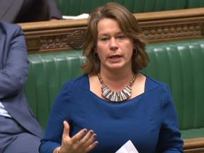 Independent MP Michelle Thomson speaks in the House of Commons