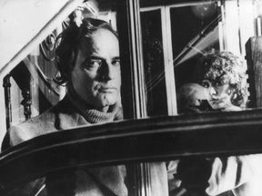 Marlon Brando with Marie Schneider in 'Last Tango In Paris'.