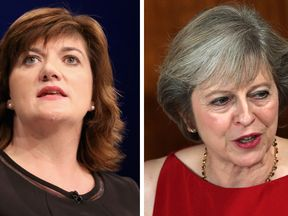Nicky Morgan and Theresa May
