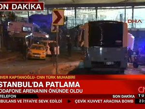 Two blasts outside Istanbul stadium 'kill at least 13'