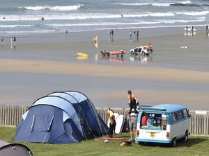 Woman on holiday in Polzeath, Cornwall, dies after being pulled from sea