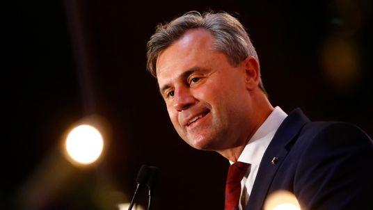 Austrian presidential candidate Norbert Hofer