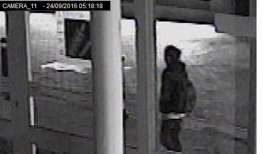 A person wearing dark clothing in Cornhill Walk at 5.18am – image 18