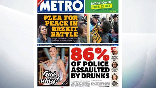 Cheap alcohol is fuelling a national epidemic of violence against emergency services and NHS staff, MPs and peers warn in a report according to Metro