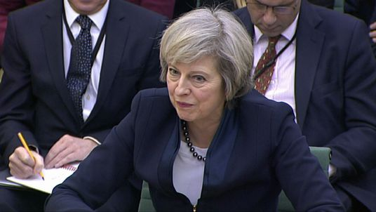 Theresa May will not answer parliament Brexit vote question