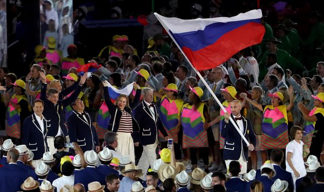 Russian doping cover-up 'helped 1,000 athletes'