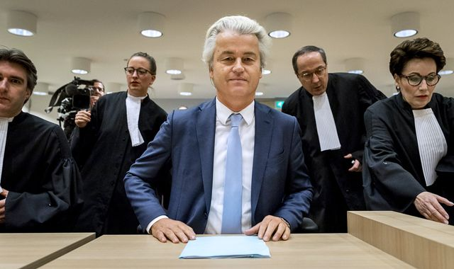 Geert Wilders guilty but walks free over hate speech charges