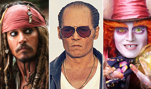 Johnny Depp tops Forbes most overpaid actors list