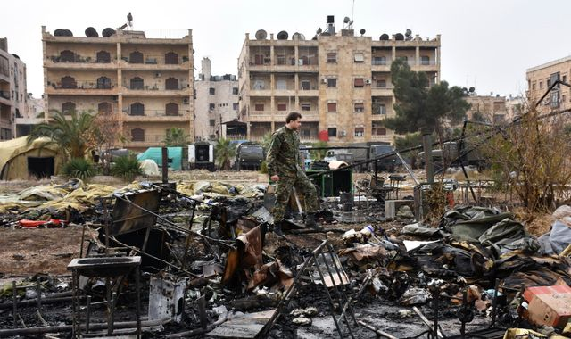 Russia says two nurses killed in Aleppo hospital bombing