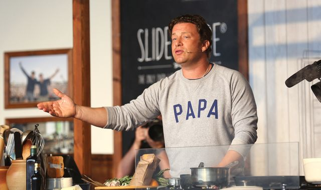Jamie Oliver baffled by reaction to daughters watching son's birth
