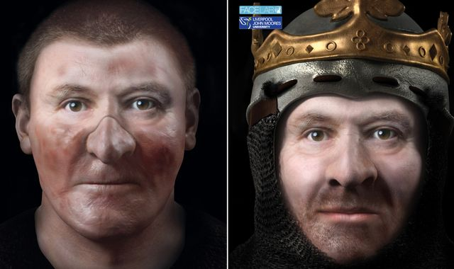 Robert the Bruce revealed in new images based on dug-up skull