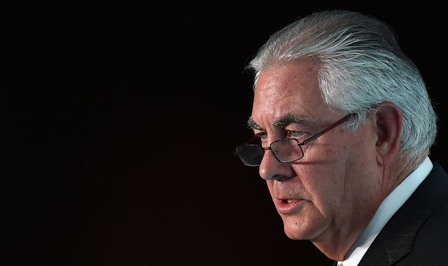 Exxon Mobil boss Rex Tillerson 'to be US Secretary of State'
