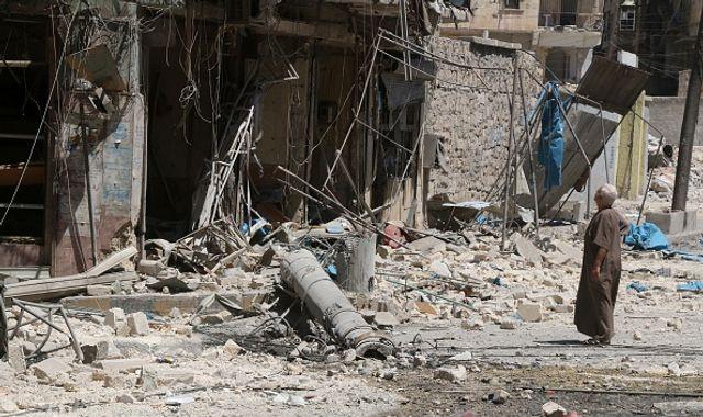 Russian field hospital hit in Syria's Aleppo, nurse killed