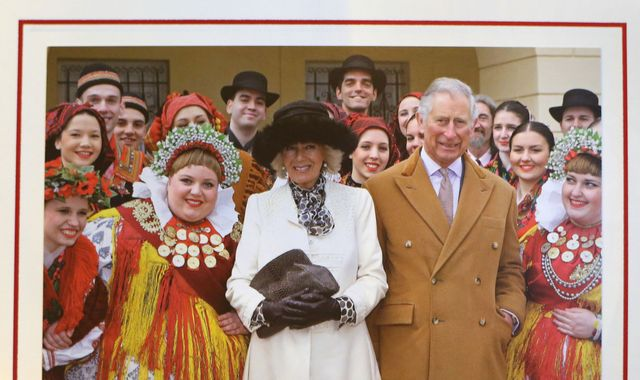 Royal greetings! Charles and Camilla's Christmas card