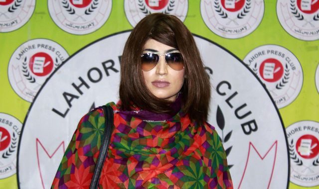 Brother of slain social media star Qandeel Baloch charged with her murder