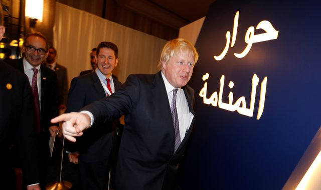 Boris Johnson charms the Gulf after 'proxy wars' rebuke