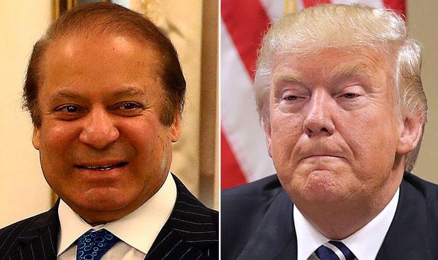 Donald Trump praises Pakistan and its 'terrific' PM Nawaz Sharif
