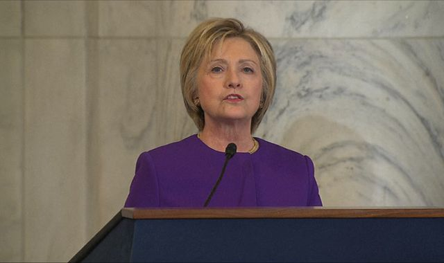 Hillary Clinton says 'epidemic' of fake news puts 'lives at risk'