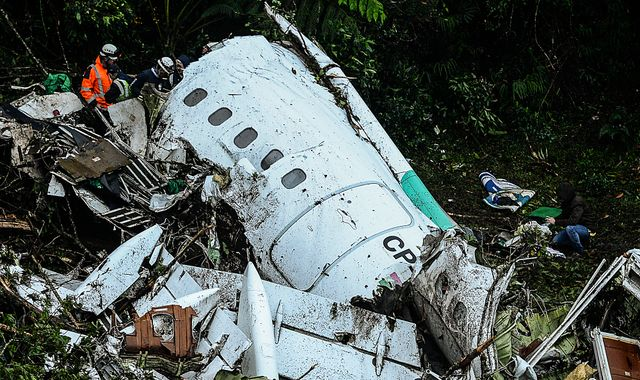 Chapecoense team devastated by plane crash awarded trophy