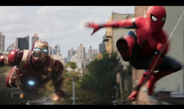 Spider-Man teams with Iron Man in new Homecoming trailer