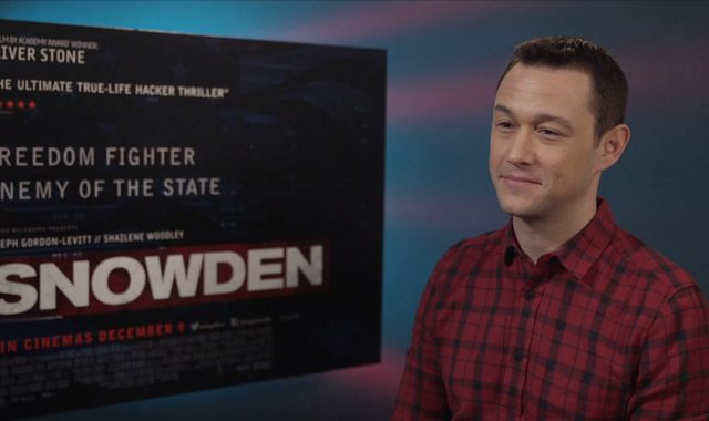 Joseph Gordon-Levitt 'took a risk' portraying Snowden