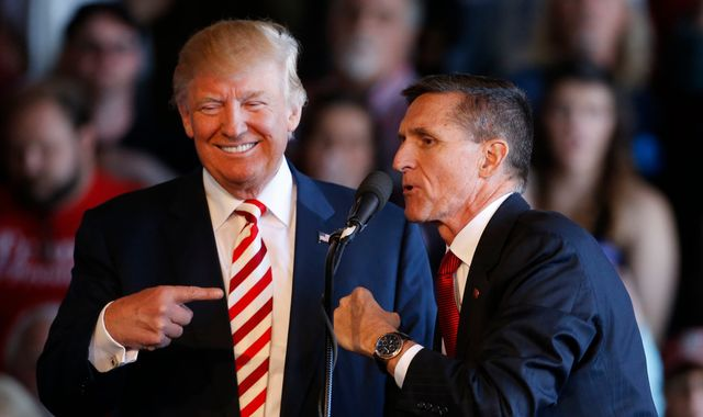 Donald Trump fires Michael G Flynn over 'Pizzagate' fake Clinton story scandal