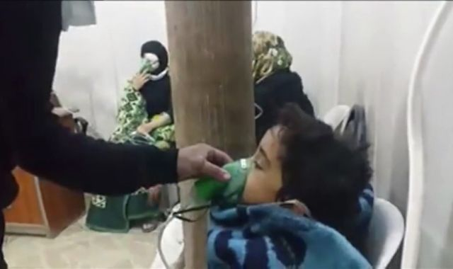Activists accuse Syria regime of chemical attack in Aleppo