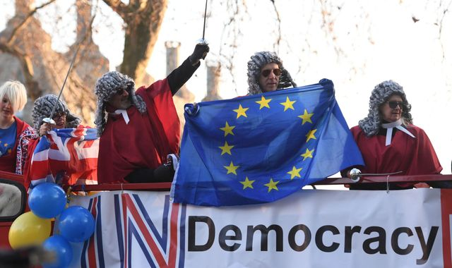 Parliament is sovereign, Supreme Court told in Brexit challenge