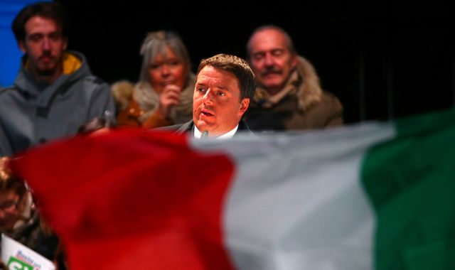 Italians head for polls in referendum as anxious Europe looks on