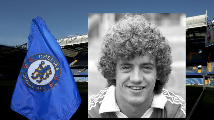 Gary Johnson at Chelsea in 1979