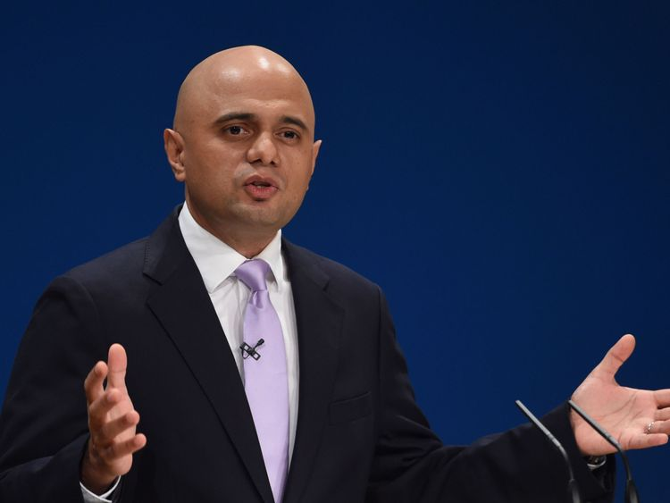 Communities Secretary Sajid Javid