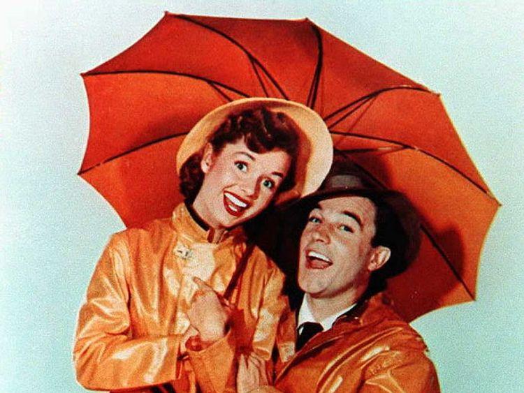 Gene Kelly and Debbie Reynolds starred in Singin' In The Rain