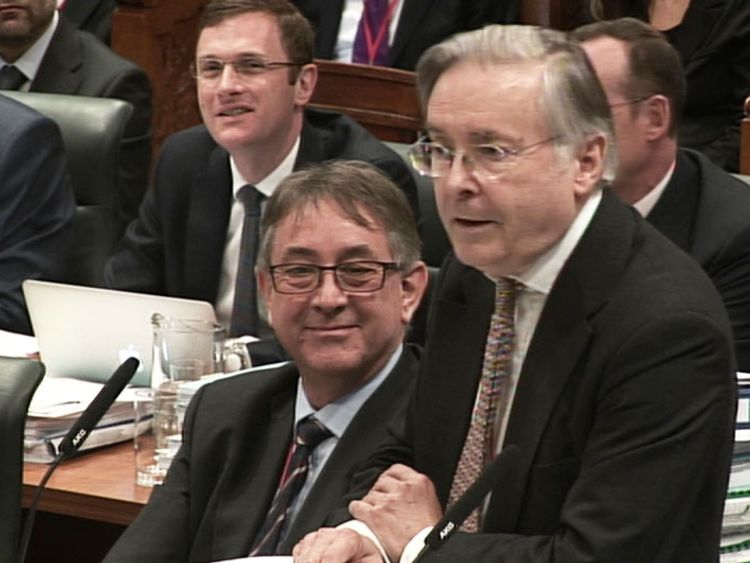 Richard Gordon QC, representing the Welsh Government, at the Supreme Court