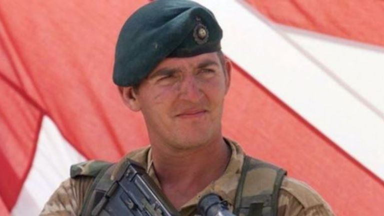 Sgt Blackman is serving eight years for murder