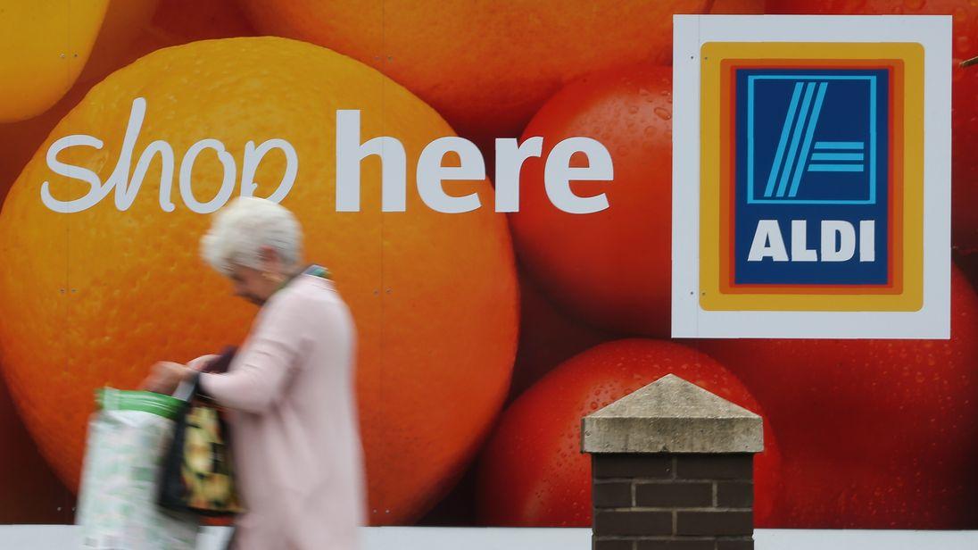Aldi has 700 stores across the UK
