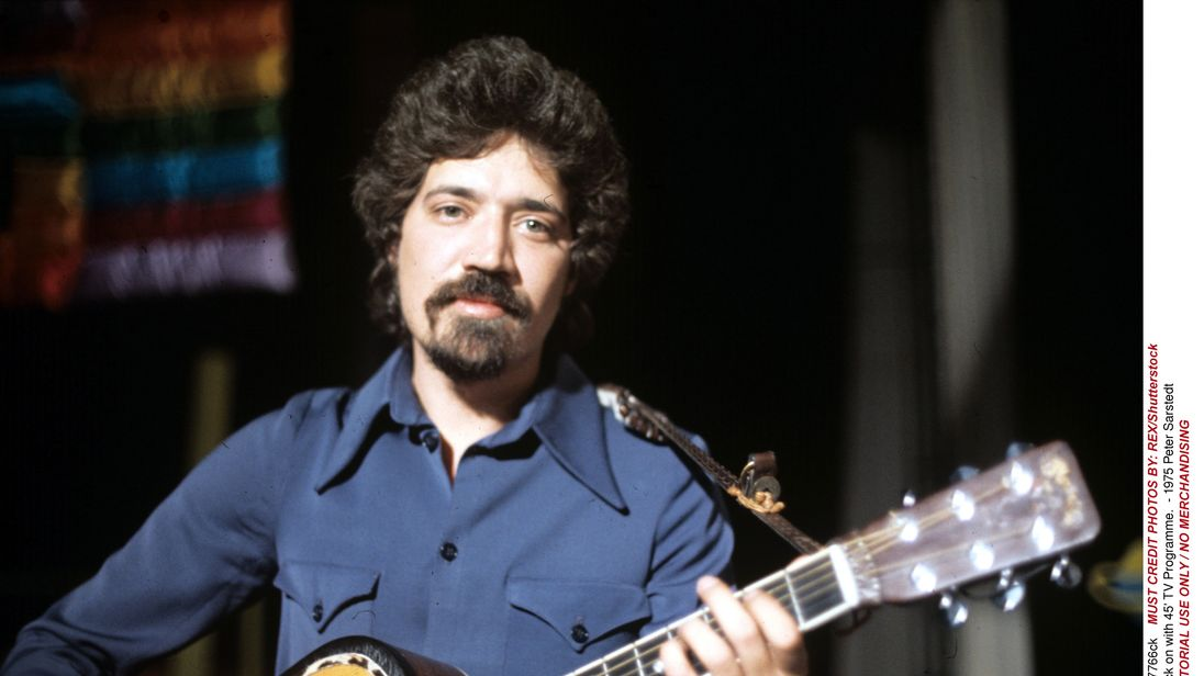 Peter Sarstedt pictured in 1975