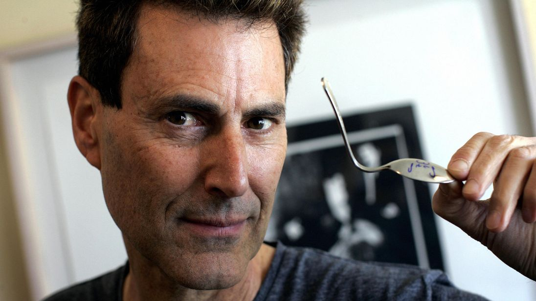 Uri Geller's claim to fame is bending spoons using only the power of his mind