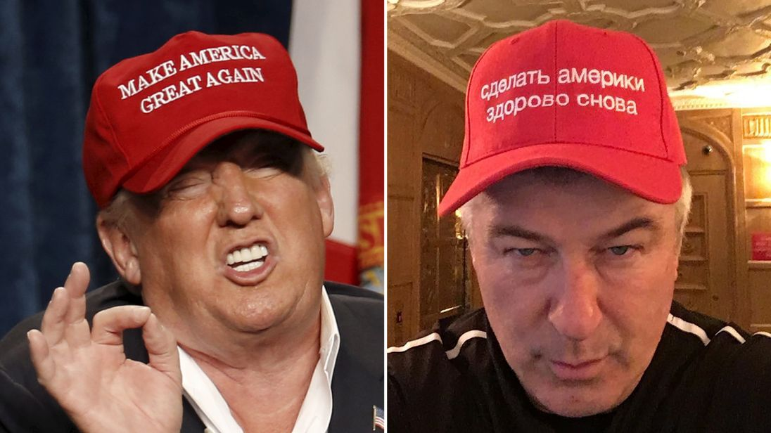Donald Trump and Alec Baldwin