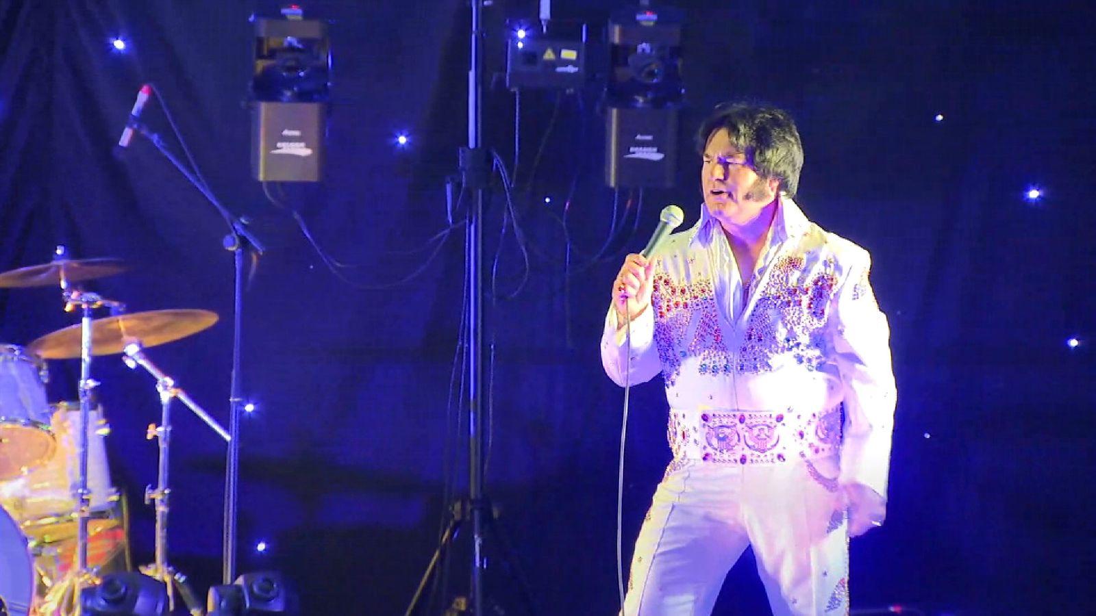 Elvis Presley impersonators battle it out in Birmingham