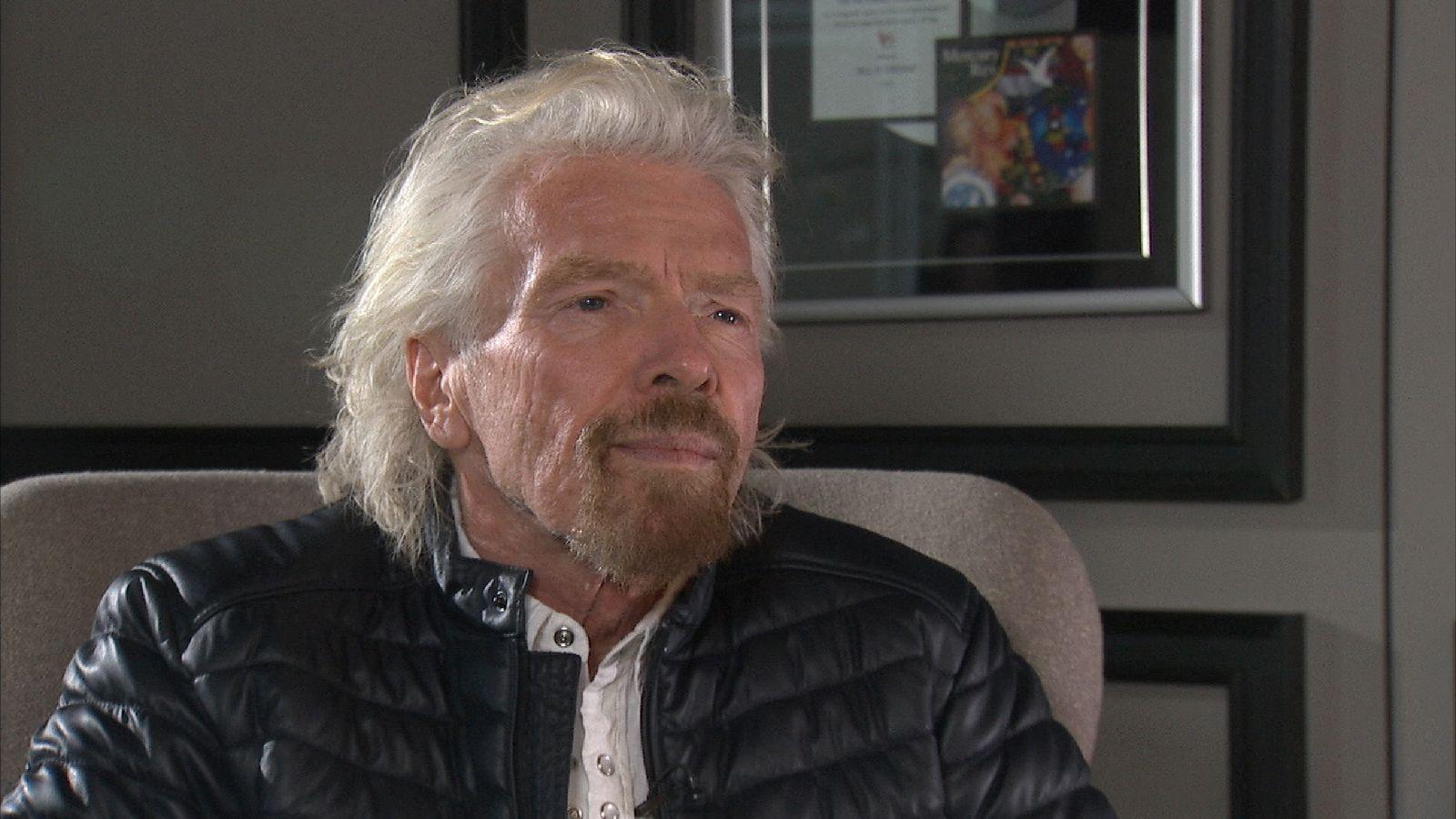 Richard Branson speaks with Sky's Dermot Murnaghan about ocean pollution.