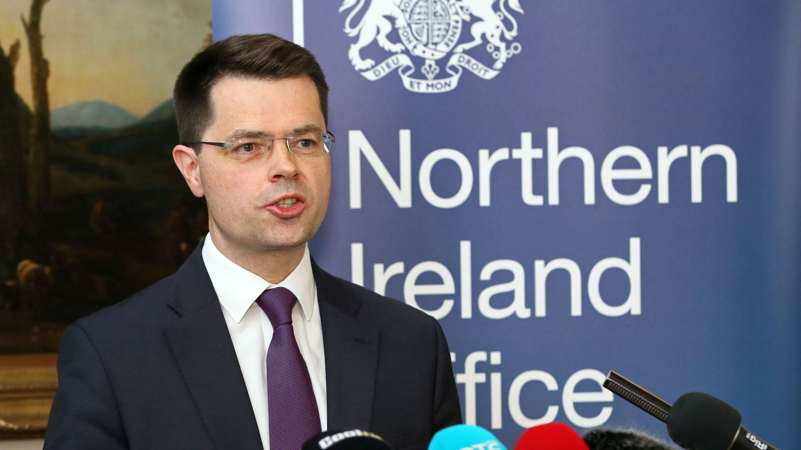 James Brokenshire calls for fresh Northern Ireland Assembly elections
