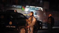 The attack happened at the governor's compound in Kandahar