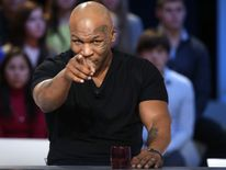 US former heavyweight boxing champion Mike Tyson