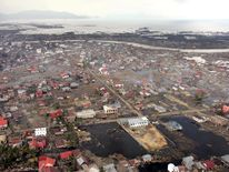 The city of Banda Aceh was devastated by a tsunami following the Boxing Day earthquake in 2004