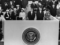 JFK was sworn in on 20 January 1961