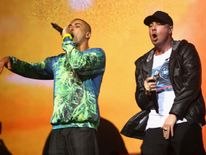 Bliss n Eso perform during the 27th Annual ARIA Awards